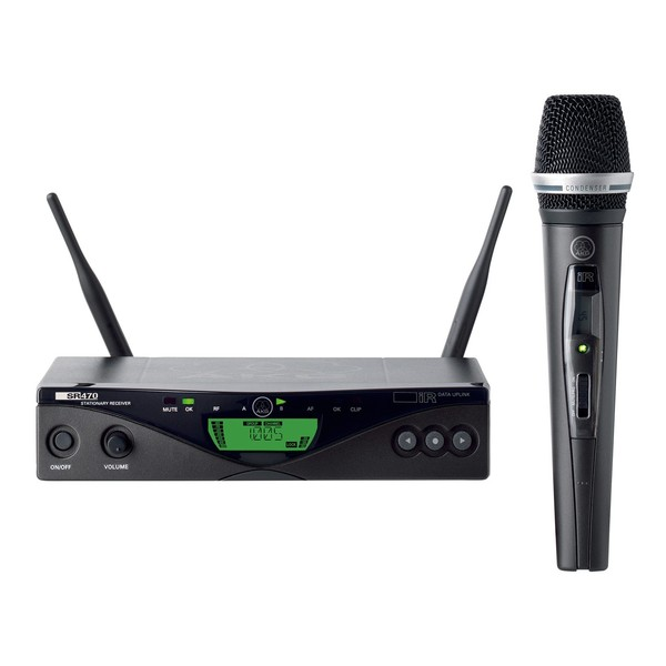 AKG WMS470 C5 Vocal Set Band 9U Wireless Microphone System