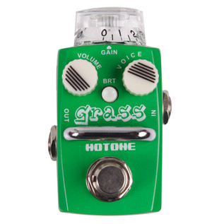 Hotone GRASS Overdrive Micro Effects Pedal