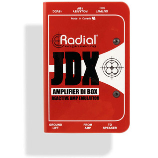 Radial JDX Reactor Guitar Amp DI Box