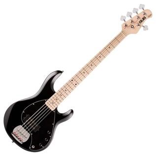 Sterling by Music Man Sub Ray 5 Bass Bass Guitar, Black