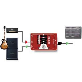 Radial JDX Reactor Guitar Amp DI Box