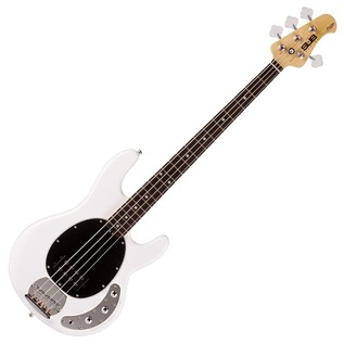 Sterling by Music Man Sub Ray 4 Bass Guitar, White