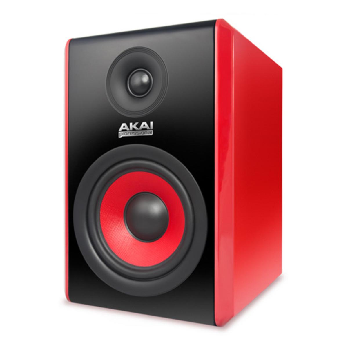 SONDERANGEBOT Akai u/min 500 Active Studiomonitor, rot (Single) bei ...