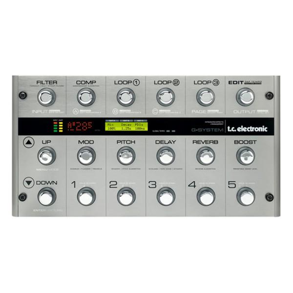 TC Electronic G-System Guitar Processor