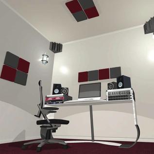 Universal Acoustics Solar System Mercury 1 Room Kit - Charcoal