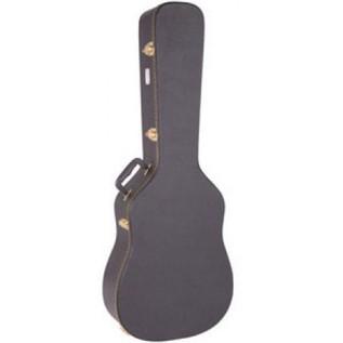 Kinsman Classic Hardshell Guitar Case, Black