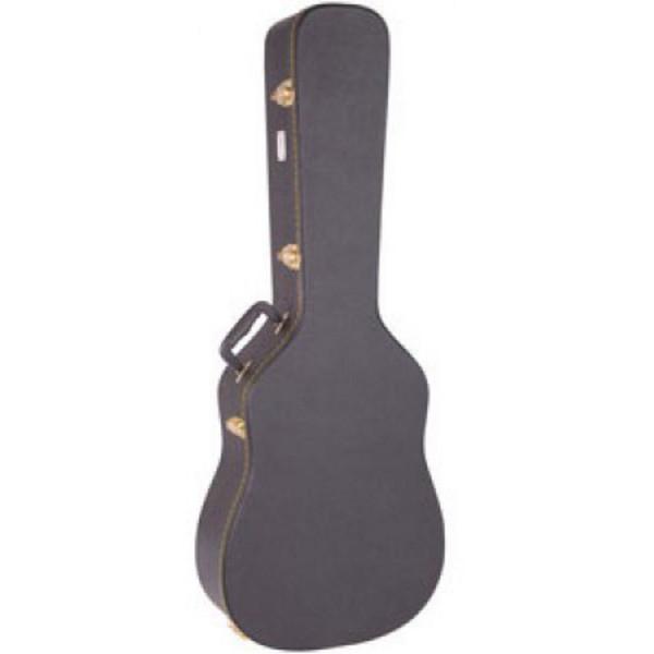 Kinsman Semi-Acoustic Hardshell Guitar Case, Black