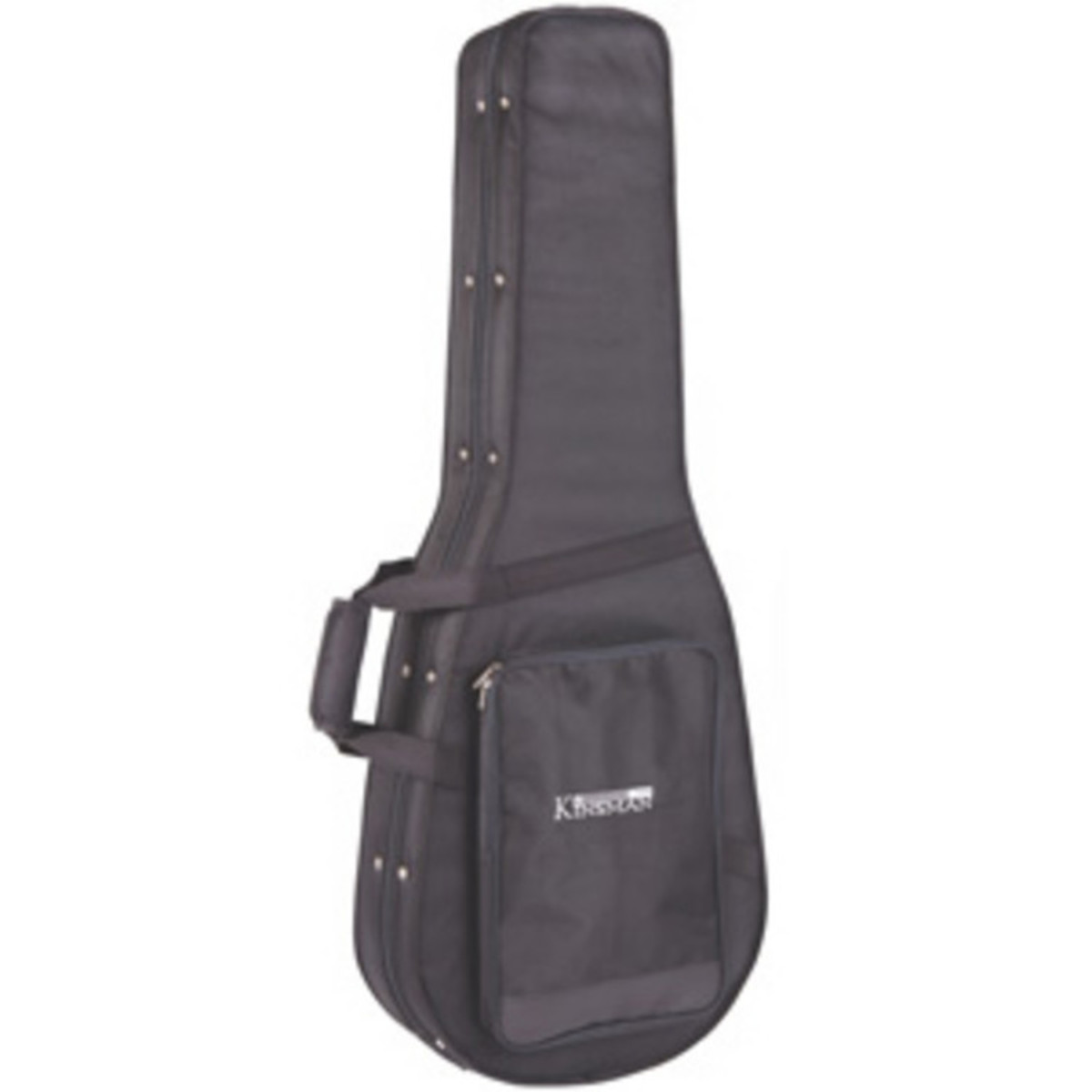 b1747dd21e9 Kinsman Classic Hard Foam Guitar Case, Black at Gear4music