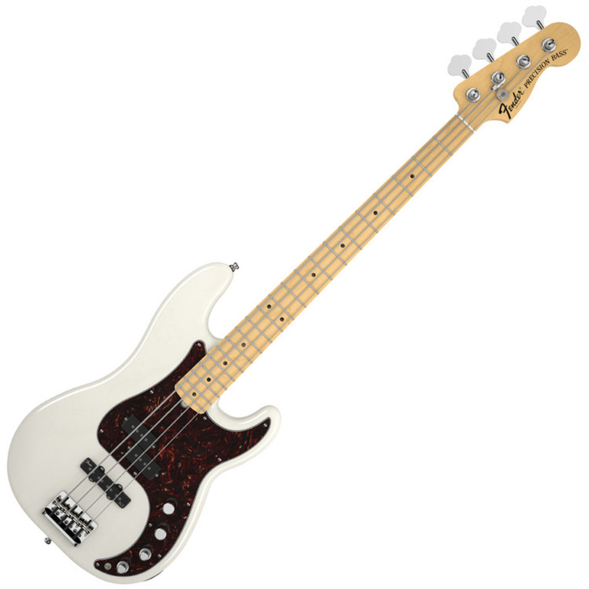 fender american deluxe precision bass ash mn white blonde at gear4music. Black Bedroom Furniture Sets. Home Design Ideas