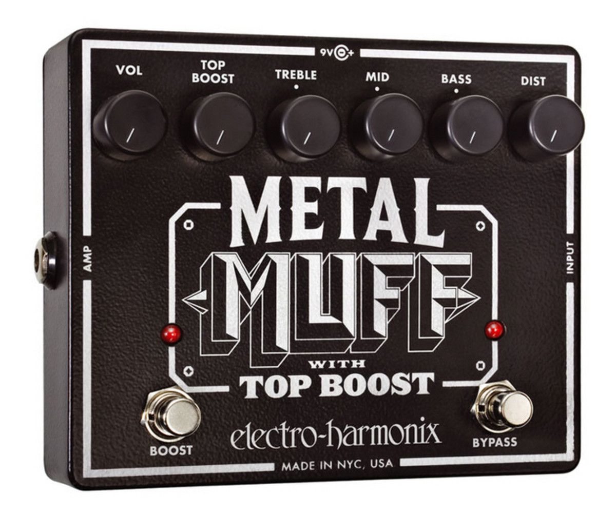 electro harmonix metal muff distortion p dale top boost comme neuf. Black Bedroom Furniture Sets. Home Design Ideas