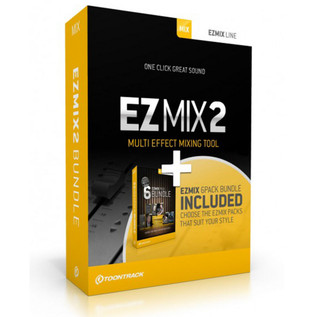 Toontrack EZmix 2 Mixing Software + EZmix Preset Pack Bundle