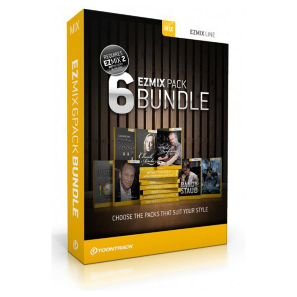 Toontrack EZmix Presets Bundle for EZMix 2 Mixing Software