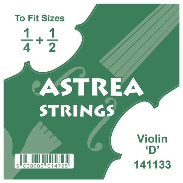 Astrea Violin D String, 1/4 - 1/2