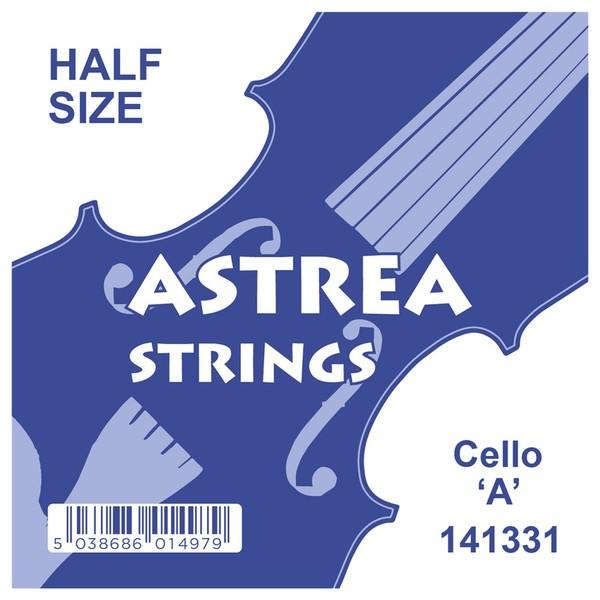 Astrea Cello A String, 1/4 - 1/2