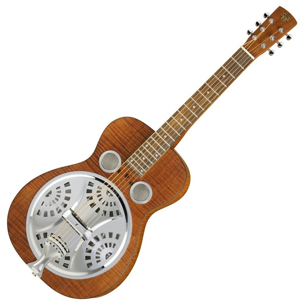 Epiphone Dobro Hound Dog Deluxe Square Neck Resonator, Vintage Brown