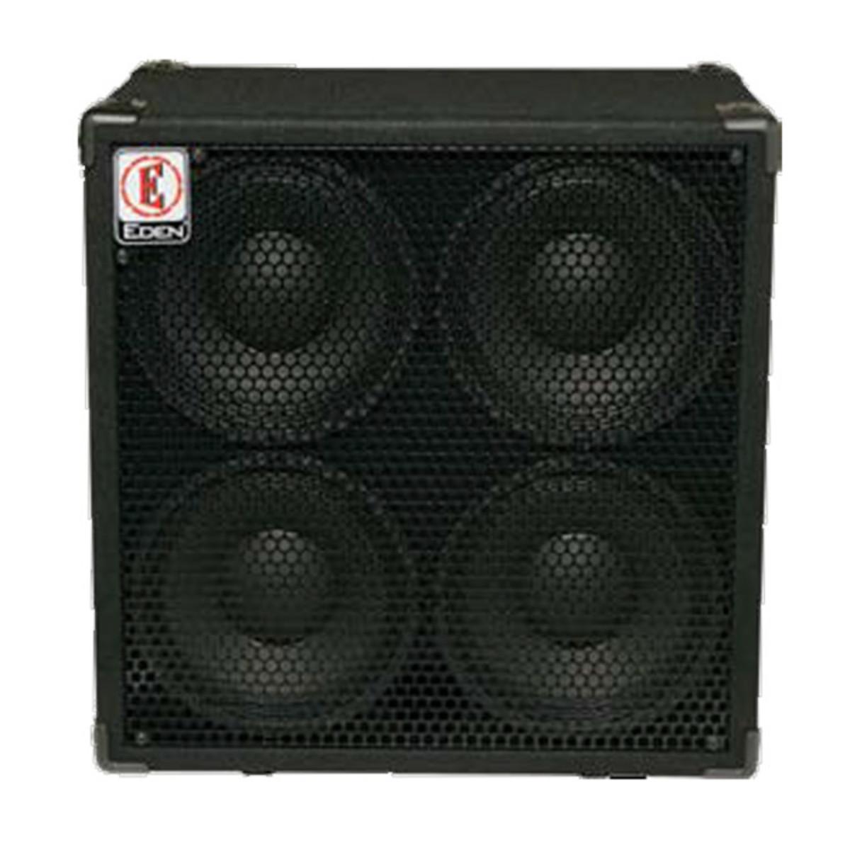 Eden EX410SC 4x10 Bass Cabinet, 400W, 4 ohms at Gear4music.com