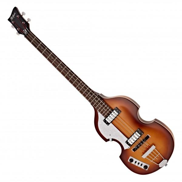 Hofner Ignition Left Handed Violin Bass, Sunburst