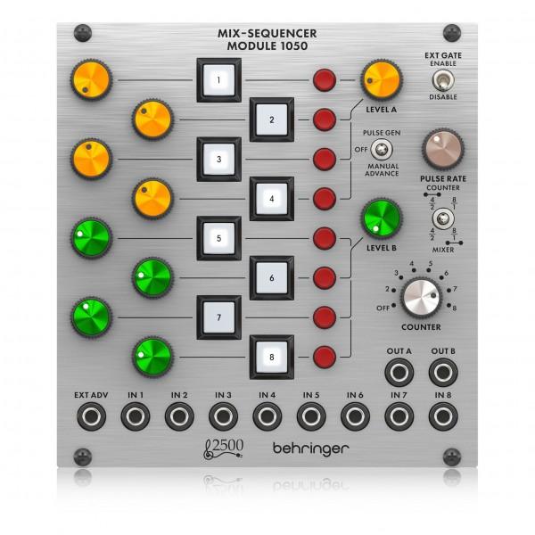 Behringer Mix-Sequencer 1050 Module - top