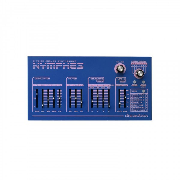 Dreadbox Nymphes 6-Voice Poly Synth
