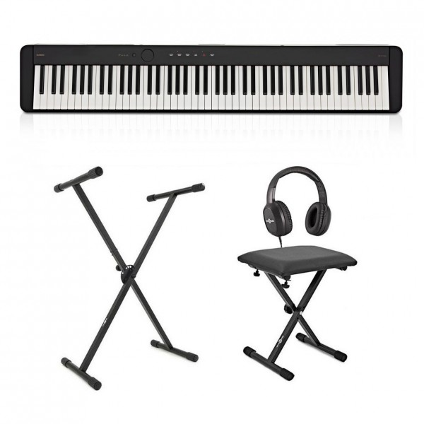 Casio PX S1100 Digital Piano X Frame Package, Black