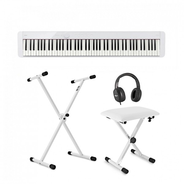 Casio PX S1100 Digital Piano X Frame Package, White