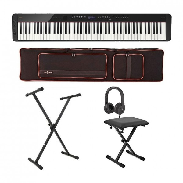 Casio PX S3100 Digital Piano X-Frame Package, Black
