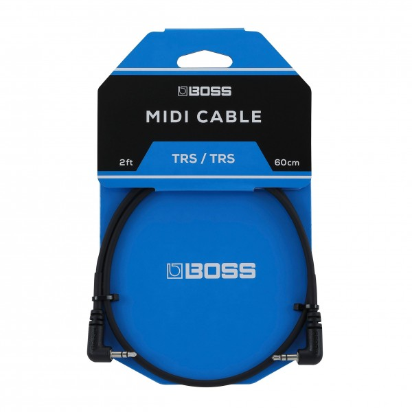 Boss BCC-2-3535 3.5mm TRS MIDI Cable, 2ft/60cm