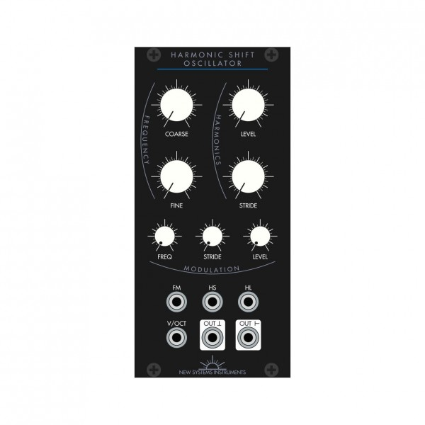 New System Instruments Harmonic Shift Oscillator