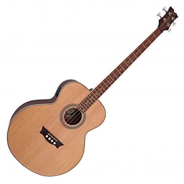 Dean EAB Electro Acoustic Bass Guitar, Satin Natural