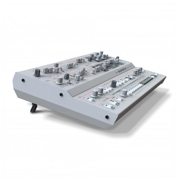 UDO Desktop Super 6, 12-Voice Polyphonic Binaural Hybrid Synthesizer - Side