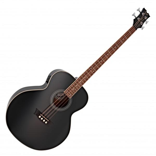 Dean EAB Electro Acoustic Bass Guitar, Classic Black
