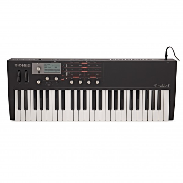 Waldorf Blofeld 49 Note Keyboard Synthesizer, Black