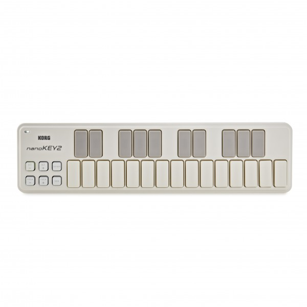 Korg nanoKEY2 USB MIDI Controller, White