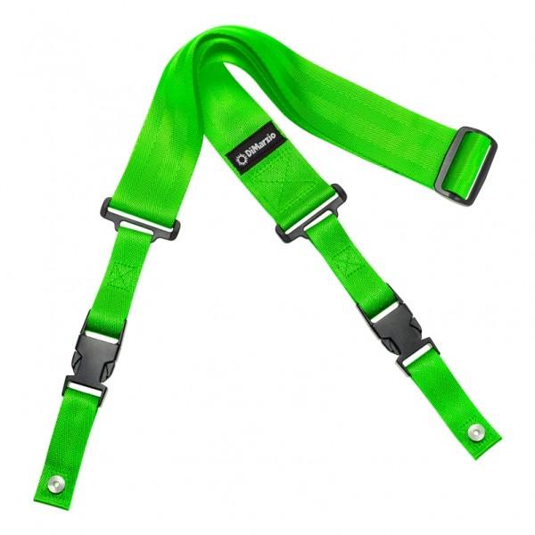 DiMarzio ClipLock Quick Release Guitar Strap, Green