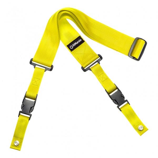 DiMarzio ClipLock Quick Release Guitar Strap, Yellow