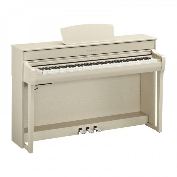 Yamaha CLP 735 Digital Piano, White Ash