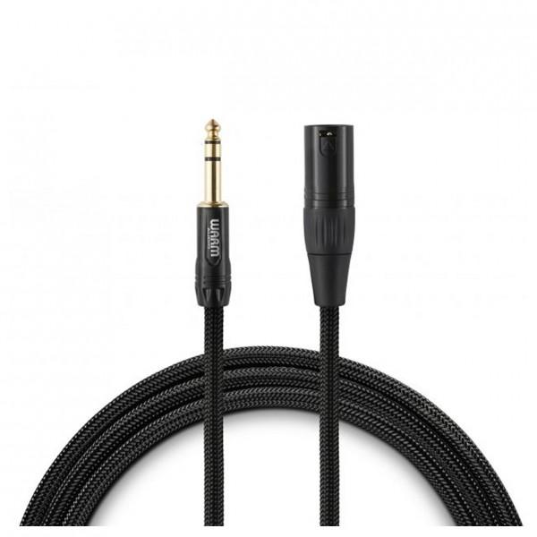 Warm Audio Premier Series Studio & Live XLR (M) to TRS Cable (M), 1.8m - Main