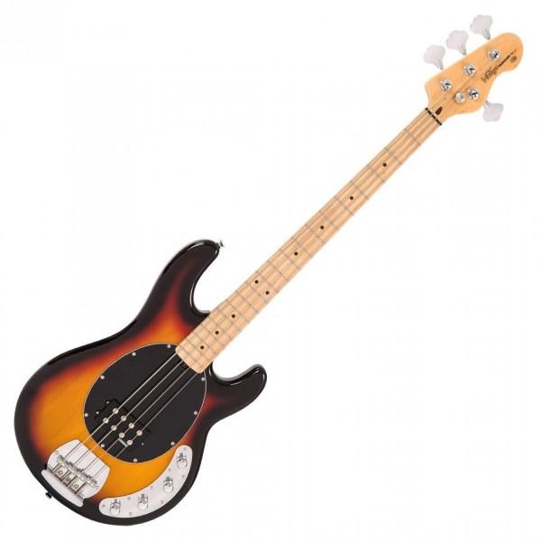 Vintage V96 Reissued Active Bass, Sunset Sunburst