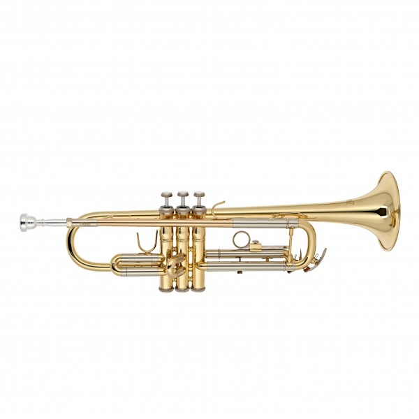 Bach TR650 Bb Trumpet Outfit, Clear Lacquer