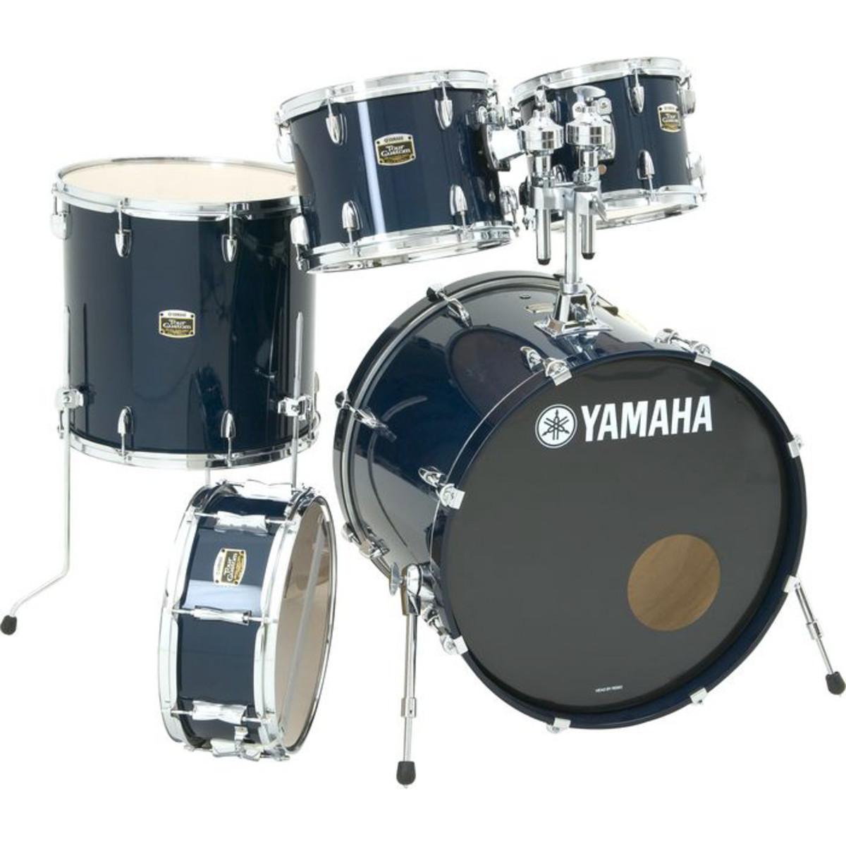 yamaha tour custom 5 piece shell set ocean blue at gear4music. Black Bedroom Furniture Sets. Home Design Ideas