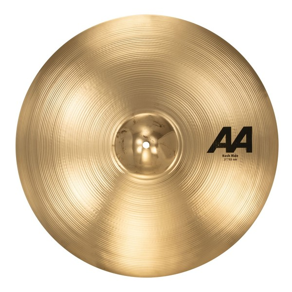 "Sabian AA 21"" Bash Ride Cymbal, Brilliant Finish - main image"