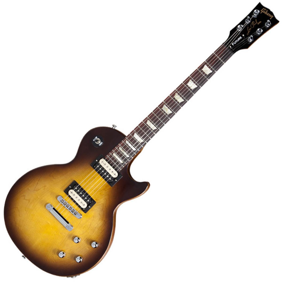 disc gibson les paul future tribute electric guitar vintage sunburst at gear4music. Black Bedroom Furniture Sets. Home Design Ideas