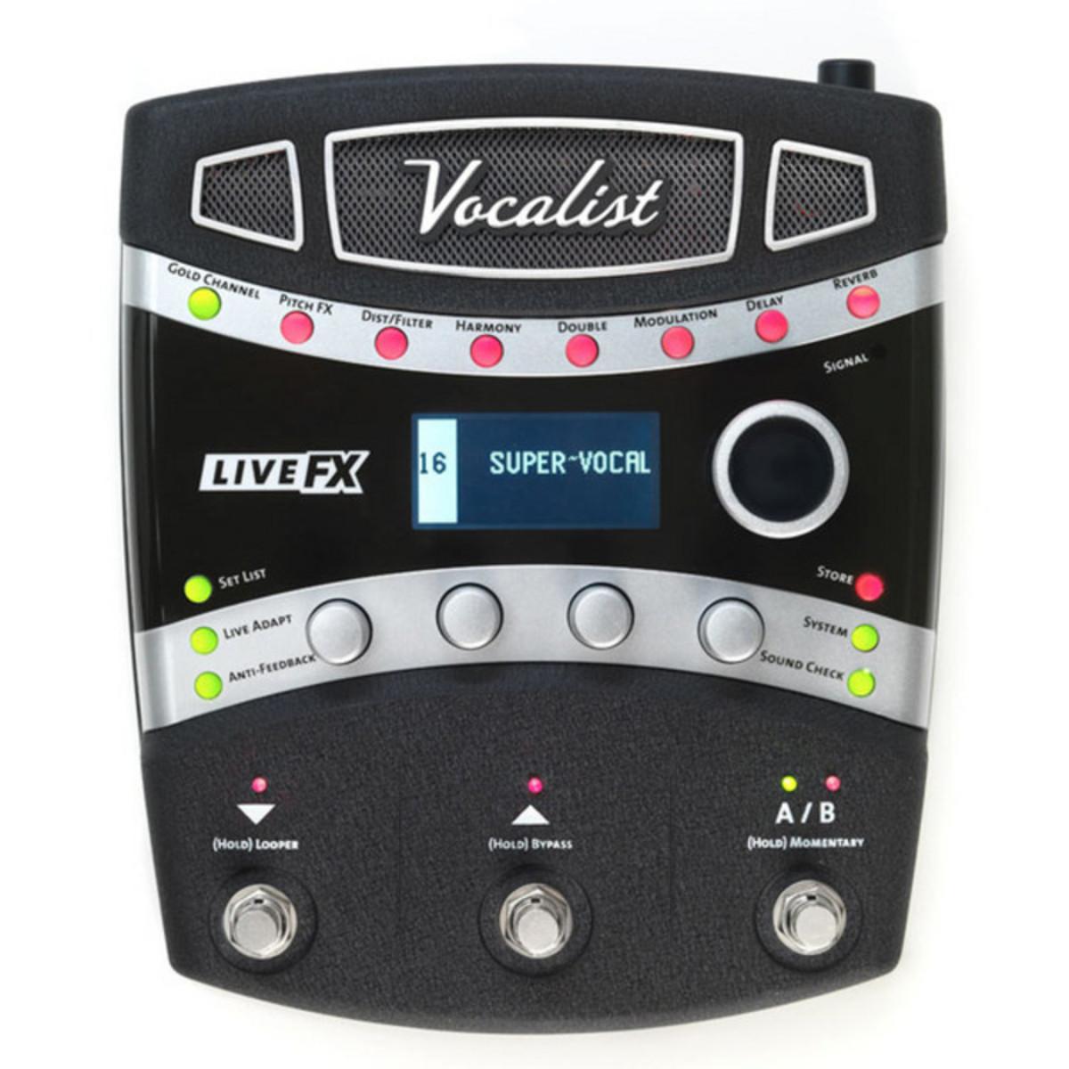 digitech vocalist live fx vocal effect processor at gear4music. Black Bedroom Furniture Sets. Home Design Ideas