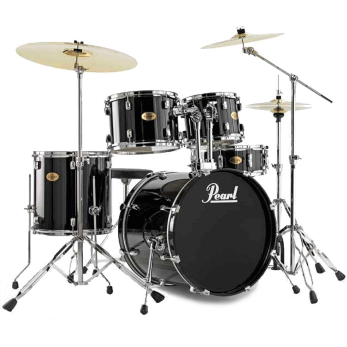 Disc Pearl Target Drum Kit Limited Edition Jet Black At