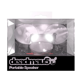 KitSound Deadmau5 Portable Mini Speaker, Chrome