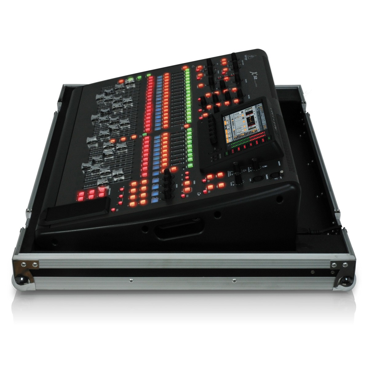 Behringer x32 tp console de mixage num rique avec flight case gear4music - Console numerique behringer ...