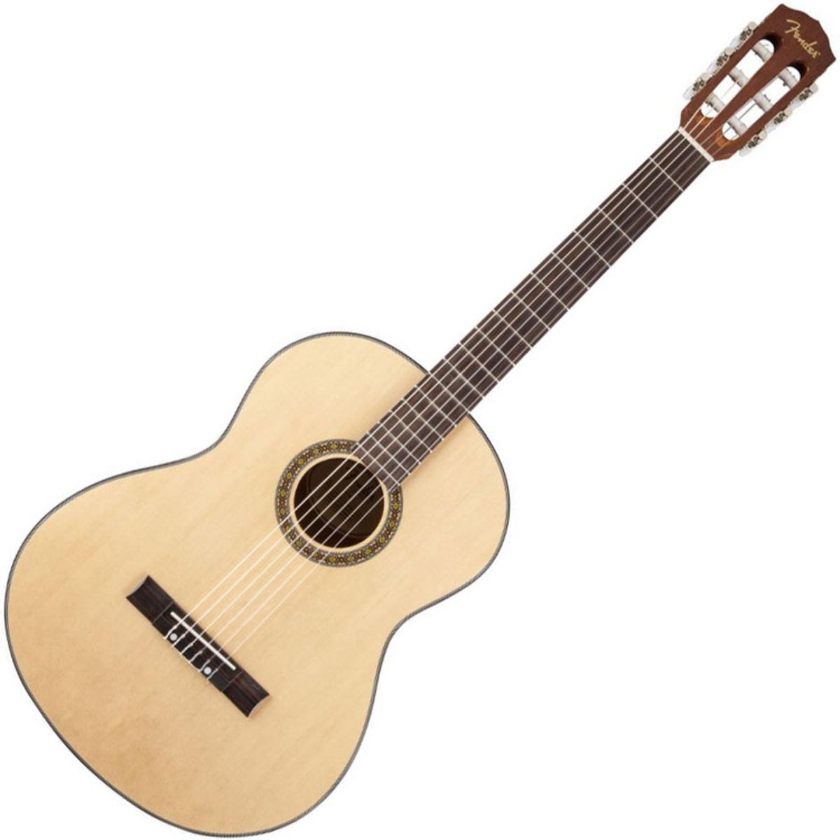 fender pack guitare acoustique classique fc 100. Black Bedroom Furniture Sets. Home Design Ideas