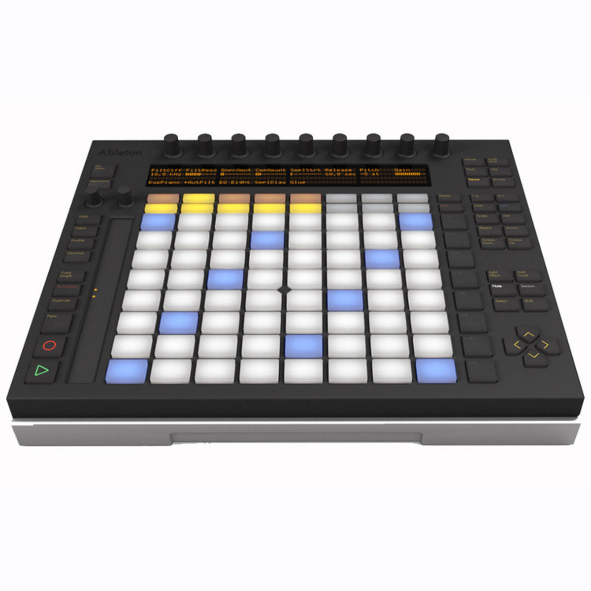 ableton push midi controller for live 9 ex demo at gear4music. Black Bedroom Furniture Sets. Home Design Ideas