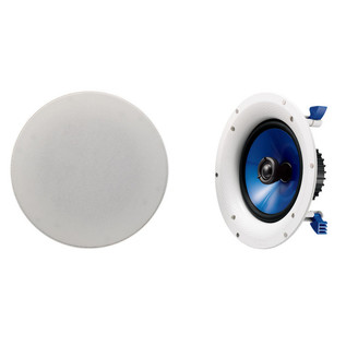 Yamaha NS-IC800 8 Inch Coaxial Ceiling Speaker, Pair