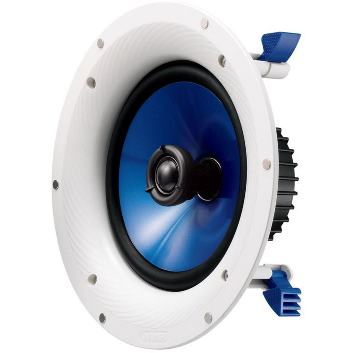 Yamaha NS IC800 8 Inch Coaxial Ceiling Speaker. Loading Zoom